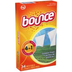 Bounce Fabric Softener - Commercial